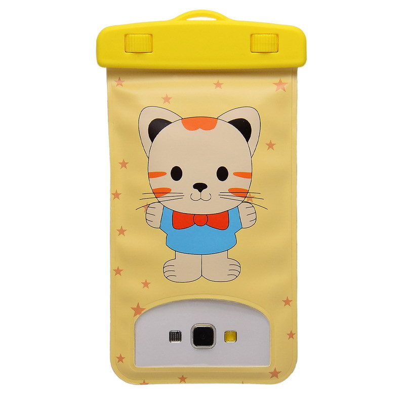 6.0 inch Cartoon Universal Waterproof Underwater Durable Bag Case Pouch For Mobile Phone For Elephone P8000 Lovely Doll Style(China (Mainland))