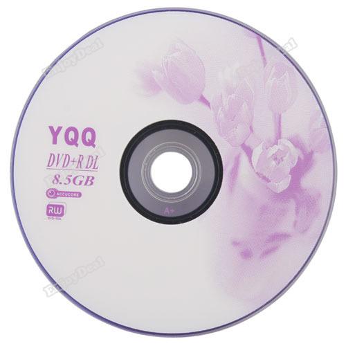 tradeward 1Pcs New 8X Blank Recordable Printable DVD+R DVDR Blank Disc Disk 8X Media 8.5GB Hot(China (Mainland))