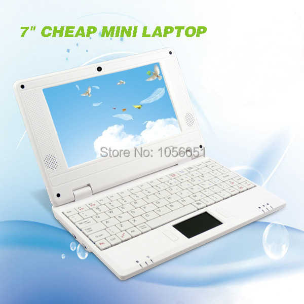 7 inch Colorful Netbook Laptop Google Android 4.2 WiFi 4GB Netbook PC 3G SD Card Reader(China (Mainland))