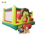 Giant Dual Slide Inflatable Castle Jumping Bouncer Obstacle Course Bouncy Castle Moonwalk Kids Outdoor Play Toys and Games