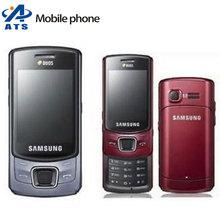 C6112 Original Samsung c6112 mobile phone Dual sim cards bluetooth mp3 player Free Shipping(China (Mainland))