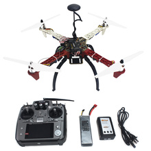 F02192-S 4-axis Aircraft RC Quadrocopter Helicopter RTF F450-V2 Frame GPS APM2.8 AT10 TX/RX Battery(China (Mainland))
