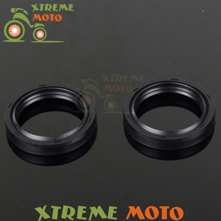 Shock Absorber Fork Dust Oil Seals For TZR125 YP250 TZM150 XV250 02-13 Motocross Enduro Motorcycle Dirt Pit Racing Bike Off Road(China (Mainland))