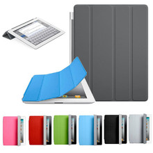 CARPRIE MotherLander Ultra Thin Magnetic Leather Smart Cover Case for Apple iPad 2 3 4 Feb6(China (Mainland))
