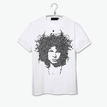 the doors jim morrison portrait design rock band t shirt
