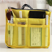 Nylon Multifunction Make up Makeup Organizer Bag Women Small Cosmetic Bags Outdoor Travel Bag Handbag Bolsas New Fashion 2015(China (Mainland))