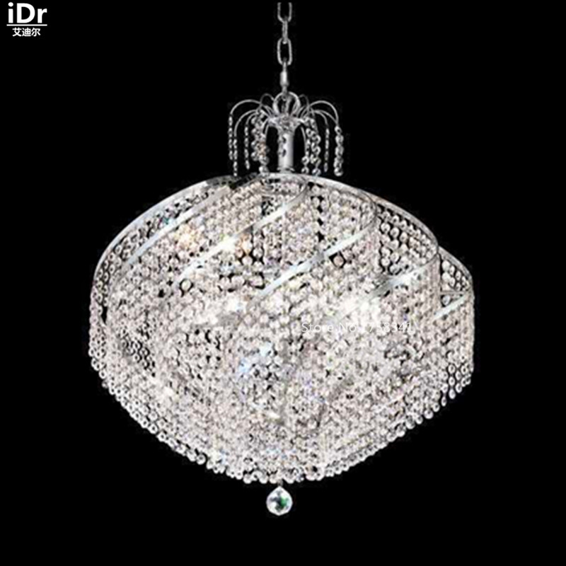 contemporary chandeliers large metal hanging crystal lamps chandelier