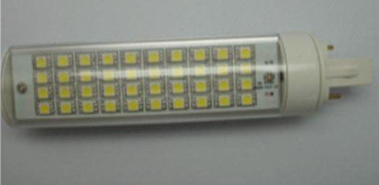 10W G24/E27 LED bulb,40pcs 5050 SMD LED,AC110V/220V input