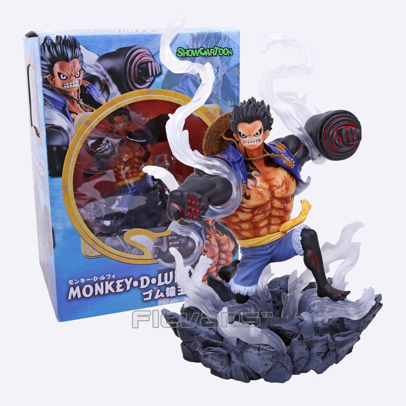 Anime One Piece POP Gear Fourth Monkey D Luffy PVC Figure Collectible Model Toy 26cm(China (Mainland))