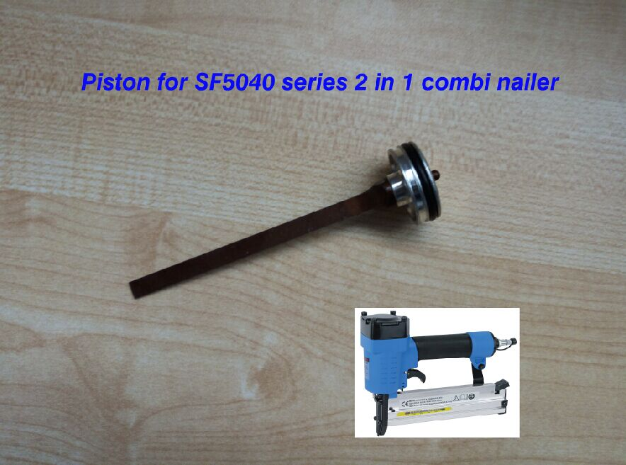 piston for 2 in 1 combination air nailer stapler F5040-A pneumatic nailer stapler, straight nail and crown nail