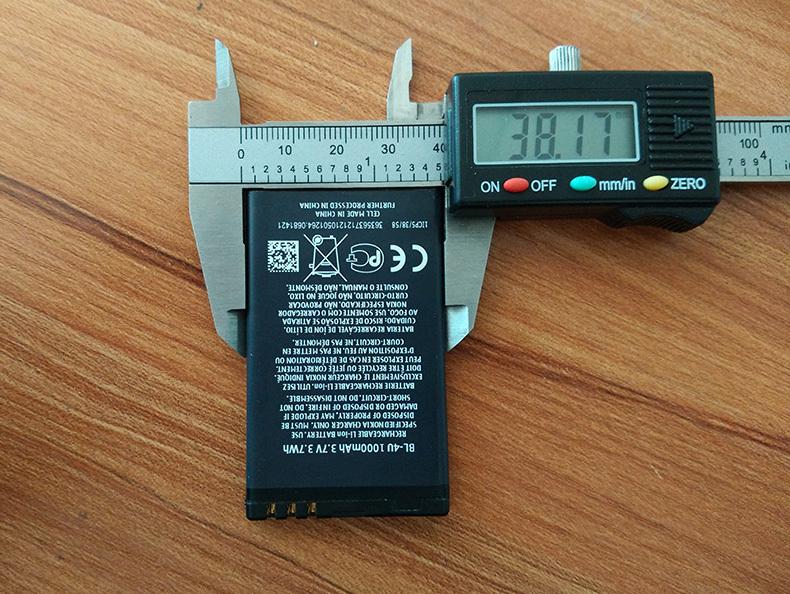 Good Quality BL 4U bl 4u Full 1000mAh Capacity Mobile Phone Battery Batteries for Nokia 3120c