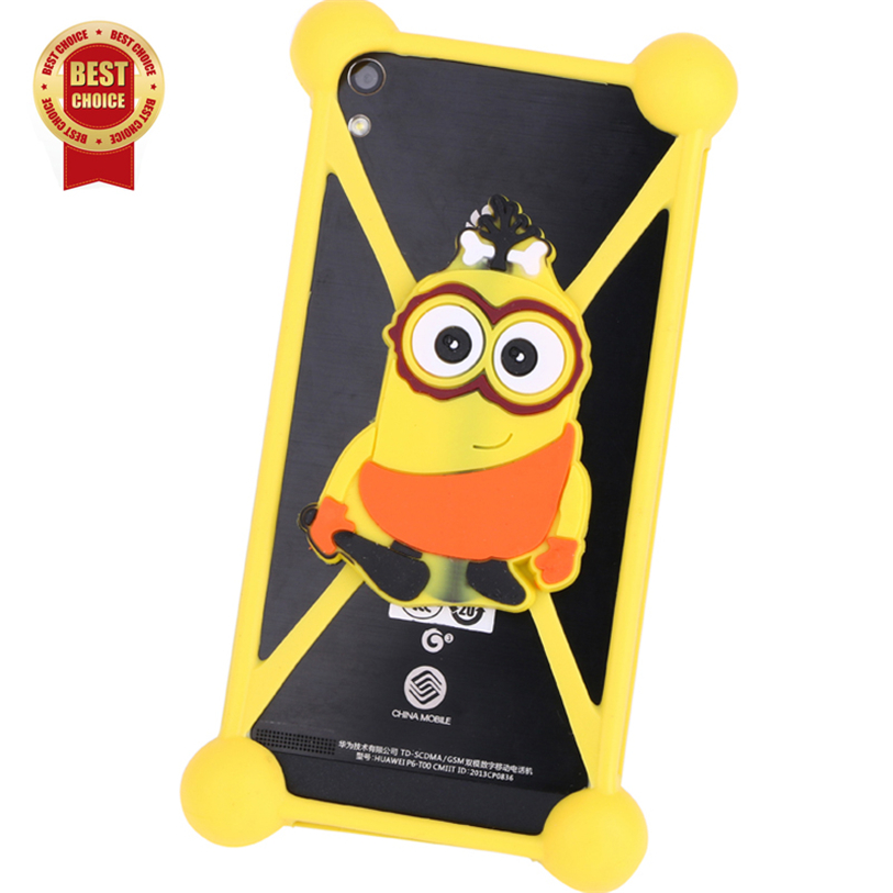 Luxury Minions Cartoon Cell Phone Cases For Highscreen ICE 2 Mobile Phone Bag Smart Phone Cover Case 3d Anti-knock Accessory(China (Mainland))