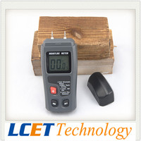 2 Year Warranty Portable Digital Moisture Meter Wood Humidity Tester Measurement Resolution+-0.1%/Accuracy 0.5% Range:0~99.9%