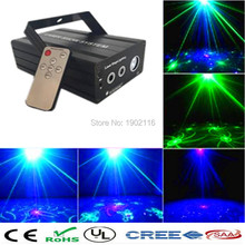Buy IR Remote Mini 24 Gobo RG Led Blue Stage Laser Lighting Equipment Effect Disco DJ Light Home Party Lights luces discoteca for $66.00 in AliExpress store