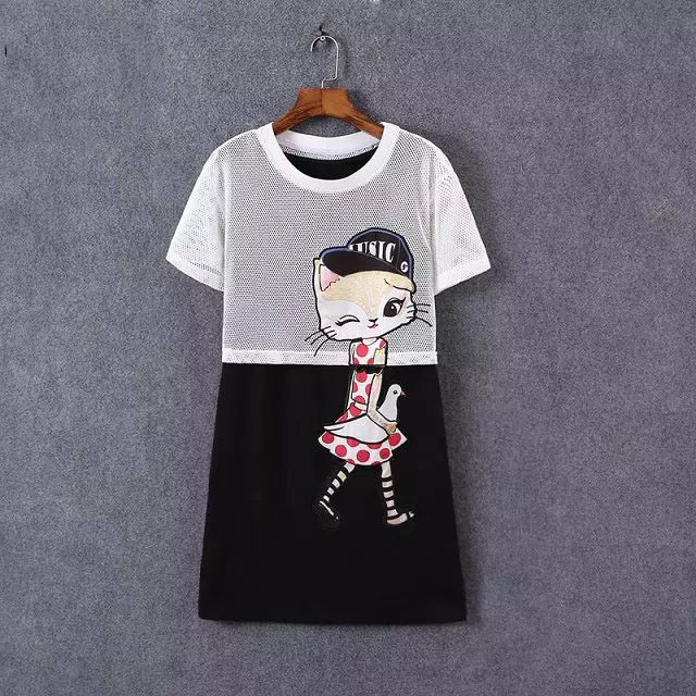 New Summer Two Piece Sets Dresses Embroidery Sleeveless Women Dress Hollow Out Mesh Tops Cute Girls Dress Vacation Dress AC8248(China (Mainland))