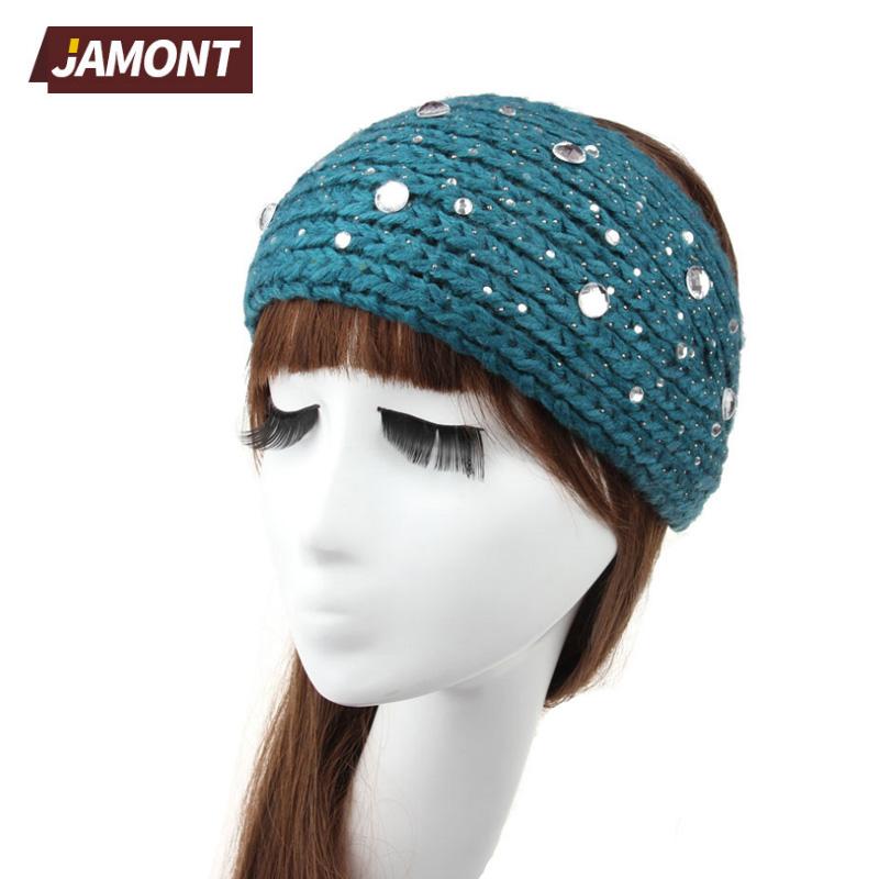 [JAMONT] New Fashion Women Crochet Headband Knit Hairband Headwear Headwrap Hair Band Accessories Q3327(China (Mainland))