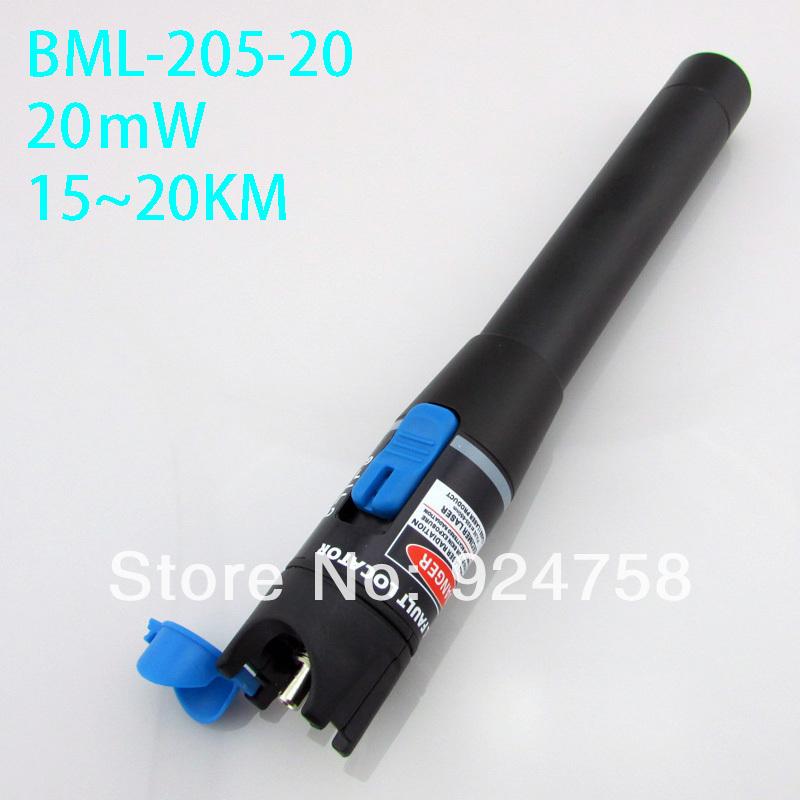 15~20km,20mw,red fiber optical test pen , laser visual fault locator,fiber optic cable tester,fiber pointer - Online Store 924758 store