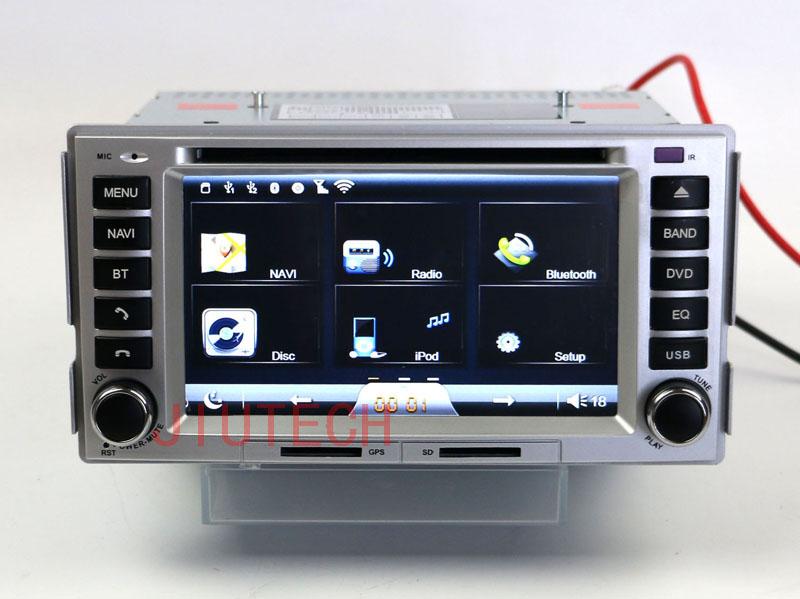 car gps navigation system for hyundai santa fe multimedia/2 din car dvd touch screen gps for hyundai santa fe car audio system(China (Mainland))