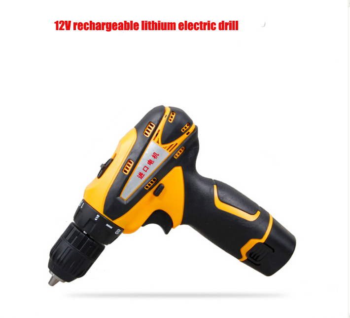 GMS12V 12V rechargeable lithium electric drill Industrial hand electric Drill<br><br>Aliexpress