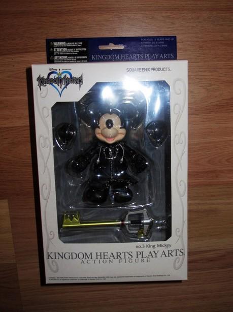 PROMOTION Square Enix Playarts Kingdom Hearts Play Arts King Mickey Action Figures 11cm(China (Mainland))