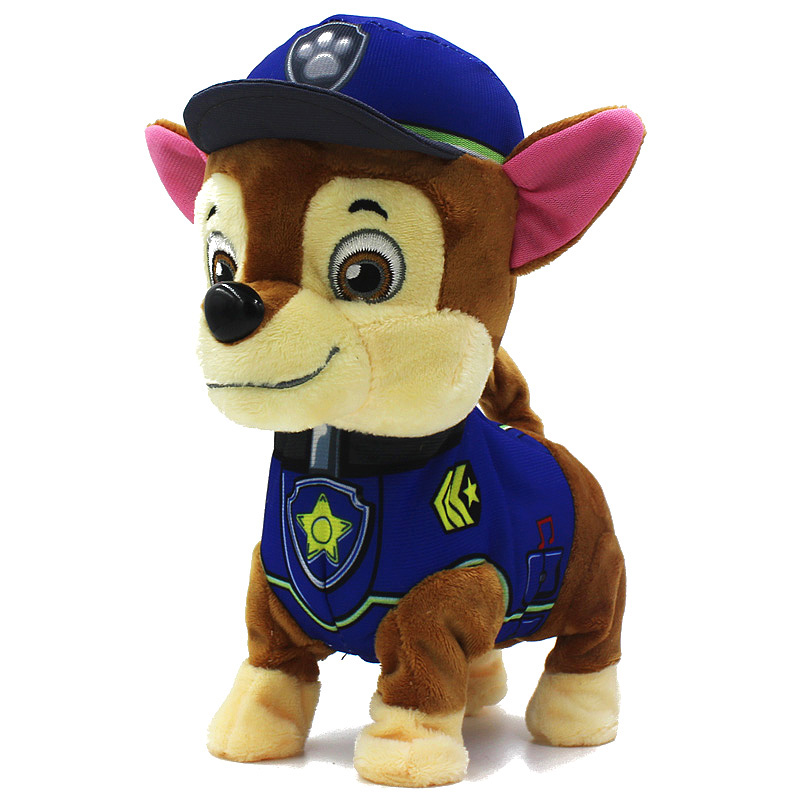 Гаджет  2015 English / Russian Walking Paw Educational Patrol Toys Music Interactive Puppy Kids Toys Dog For Children Electronic Pets None Игрушки и Хобби
