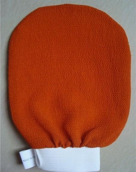 50pcs/lot morocco hammam scrub mitt magic peeling glove exfoliating tan removal mitt Package mail(China (Mainland))