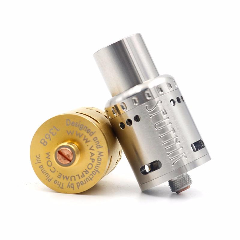 ถูก ใหม่ล่าสุดSputnik RDAเครื่องฉีดน้ำ4โพสต์PEEKฉนวนขนนกSputnikปรับการไหลของอากาศ3สีพอดี510บุหรี่อิเล็กทรอนิกส์Mods