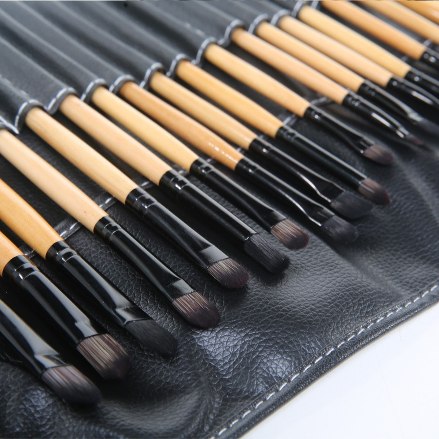 Stock Clearance !!! 32Pcs Print Makeup Brushes Professional Cosmetic Make Up Brush Set The Best Quality!(China (Mainland))