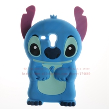 3D Cartoon Stitch Case Samsung galaxy Trend Duos GT - S7562 S7560 7562 Cute Soft Silicone Phone Cover Shenzhen Guangyuan Micro Technology Co. Ltd. store
