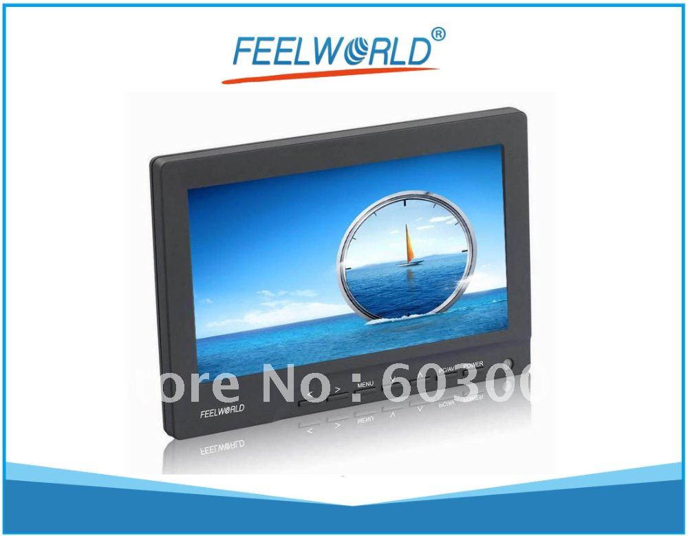 Free Shipping! Feelworld 669AH High Brightness Monitor w/ HDMI for Camera 5D Mark II,7D(China (Mainland))