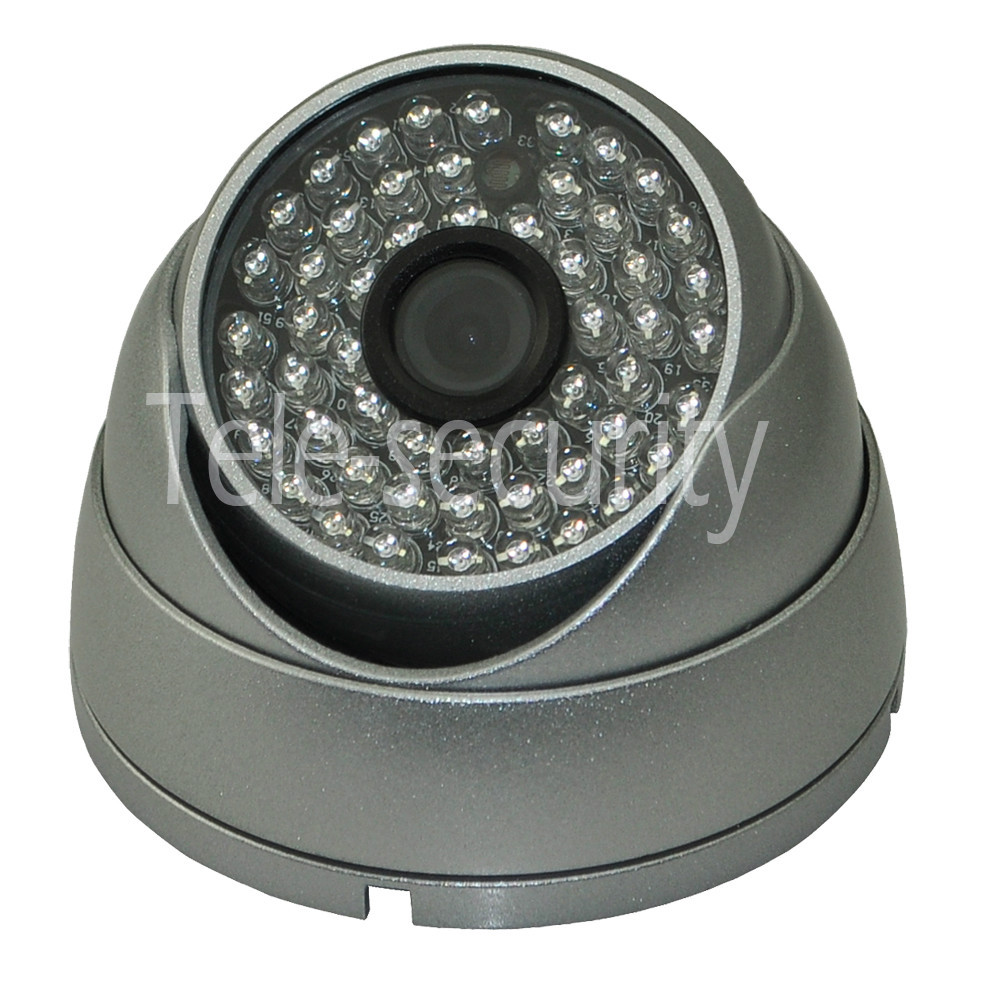 900TVL 2.1MM Wide Range CMOS 54LED Vandalproof CCTV D& Night Vision Dome Camera(China (Mainland))