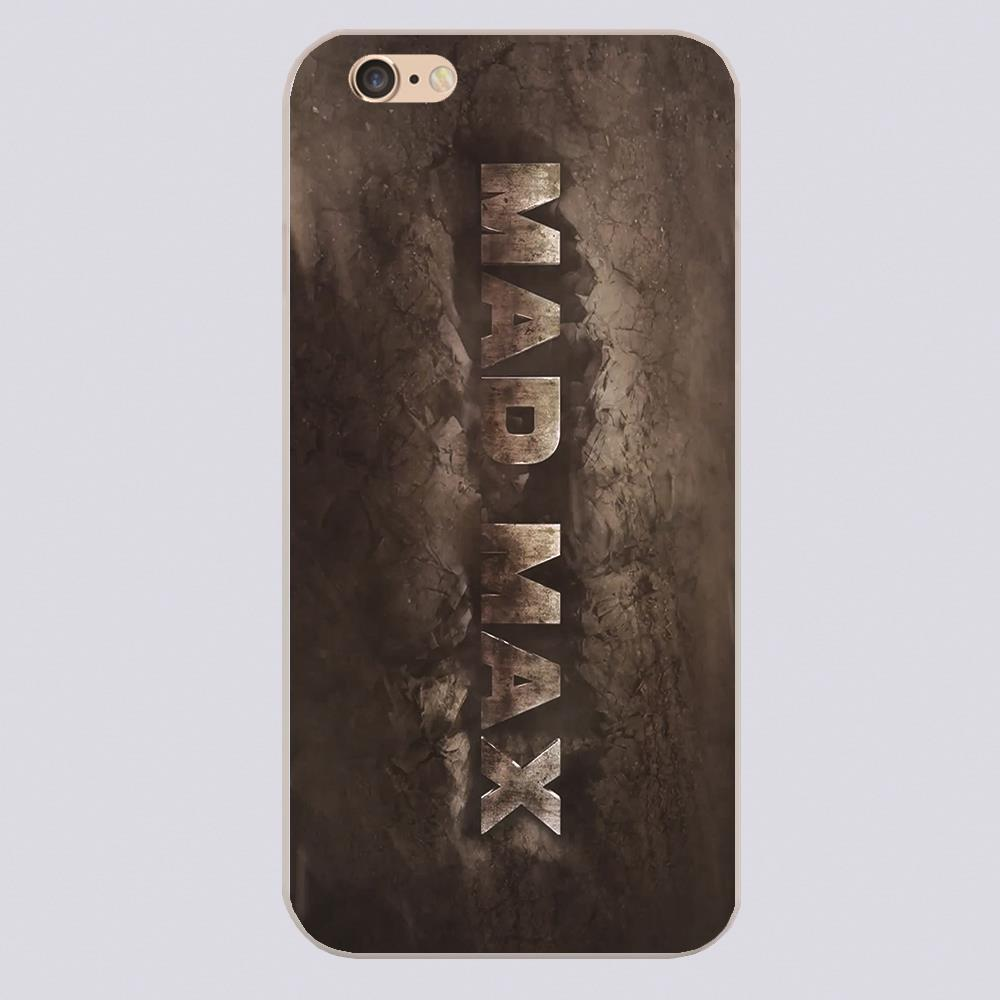 Mad max logo Design phone cover cases for iphone 4 5 5c 5s 6 6s 6plus Hard Shell(China (Mainland))