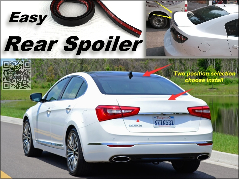 Root / Rear Spoiler For KIA Cadenza K7 VG Trunk Splitter / Ducatail Deflector For TG Fans Easy Tuning / Free Modeling<br><br>Aliexpress