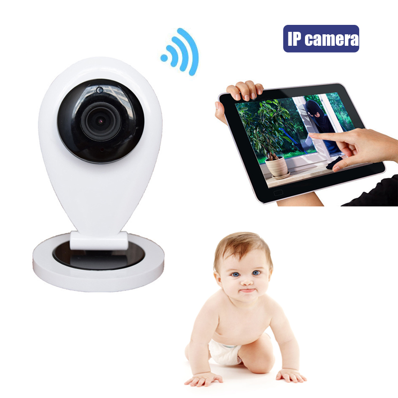Wireless Wifi Video Baby Sleep Monitor With IP Camera Electronic Babysitter Nanny With Motion Detection Email Alarm Intercom(China (Mainland))
