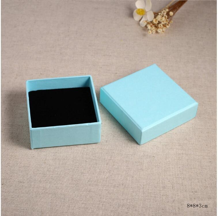 Оптовая продажа модная пустая коробка для ювелирных изделий 5 цветов футляр SSBZZS-SSBZ-4629