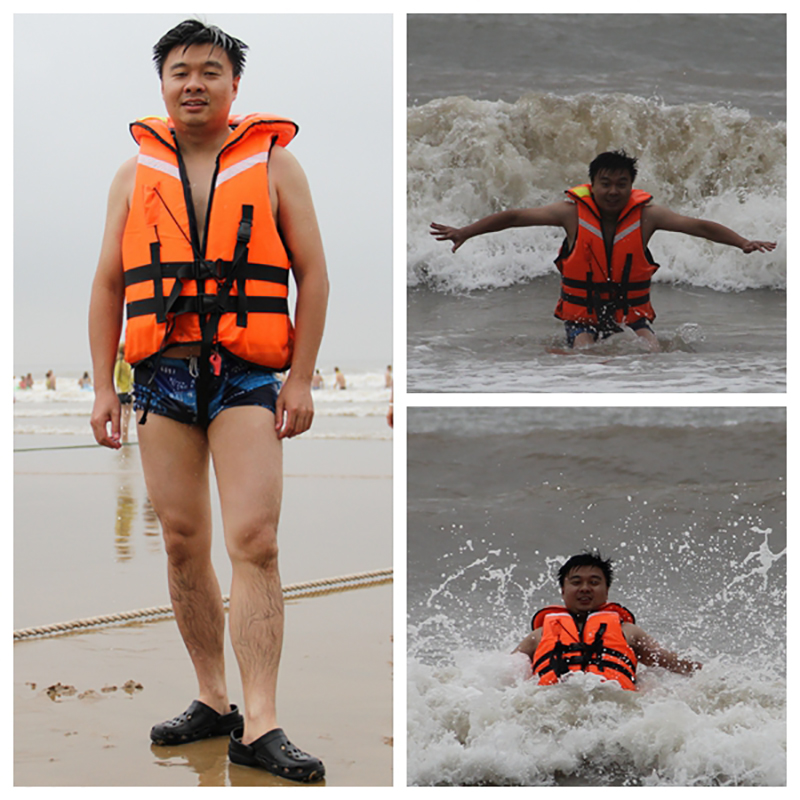Adult polyester swimming life jacket, life vest for drifting and boating, safety jacket for rafting(China (Mainland))