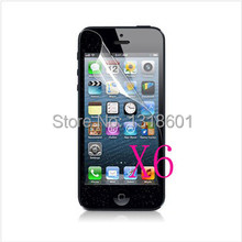 5SE Case Free Shipping 6X Clear LCD Screen Protector Guard Cover For Apple iPhone 5 5S