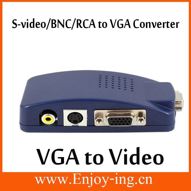 Factory clearance video VGA TV CCTV BNC/RCA S Video AV VGA ...