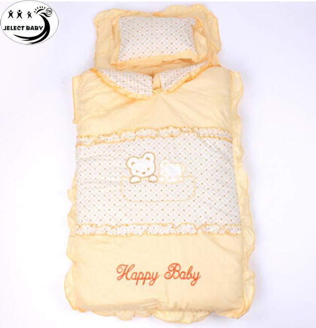 Новорожденный спальный мешок ребенка в качестве одеяло и Swadding зима Winderproof ...