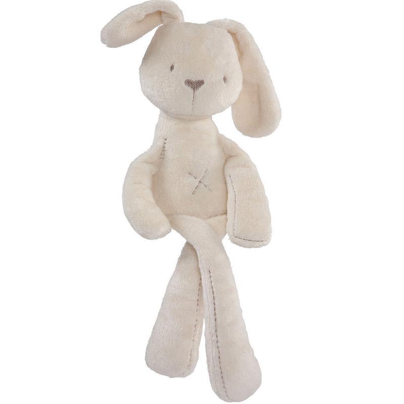 2016 new 50cm baby rabbit toys sleeping comfort doll plush toy Millie & Boris Smooth Obedient Rabbit Sleep Calm Doll(China (Mainland))