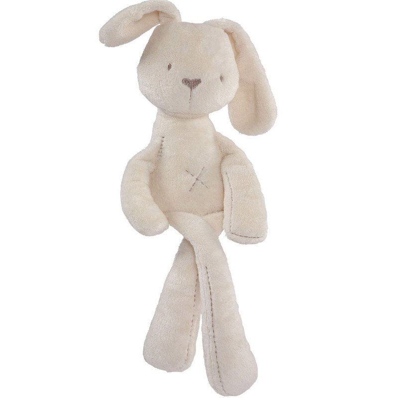 2016 new 50cm baby rabbit toys sleeping comfort doll plush toy Millie & Boris Smooth Obedient Rabbit Sleep Calm Doll(China (Mainland))