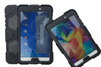 MOQ:1PCS For Samsung Galaxy Tab4 Tab 4 T330 8.0 inch Military Extreme Heavy Duty Waterproof Shockproof Defender Case With Stand