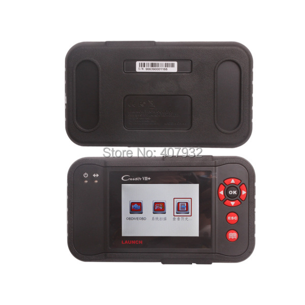 2015 Top Sale Original Launch Creader VII+ Creader 7 Plus CRP123 support Multi-Language OBD2 Code Scanner(China (Mainland))