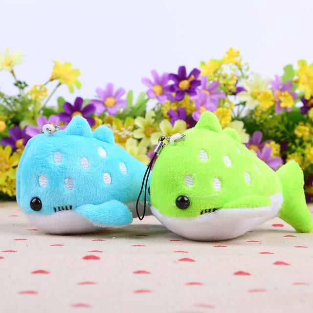20 шт./лот 10 см милые плюшевые кит мягкие игрушки животных дорогой кукла новорожденных детей дети подарок на день рождения бесплатная доставка BL1042
