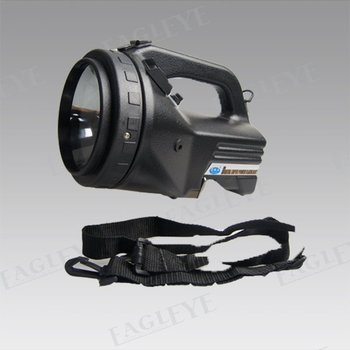 Free shipping! 55w halogen handheld spotlight for hunting camping , hand held searchlight
