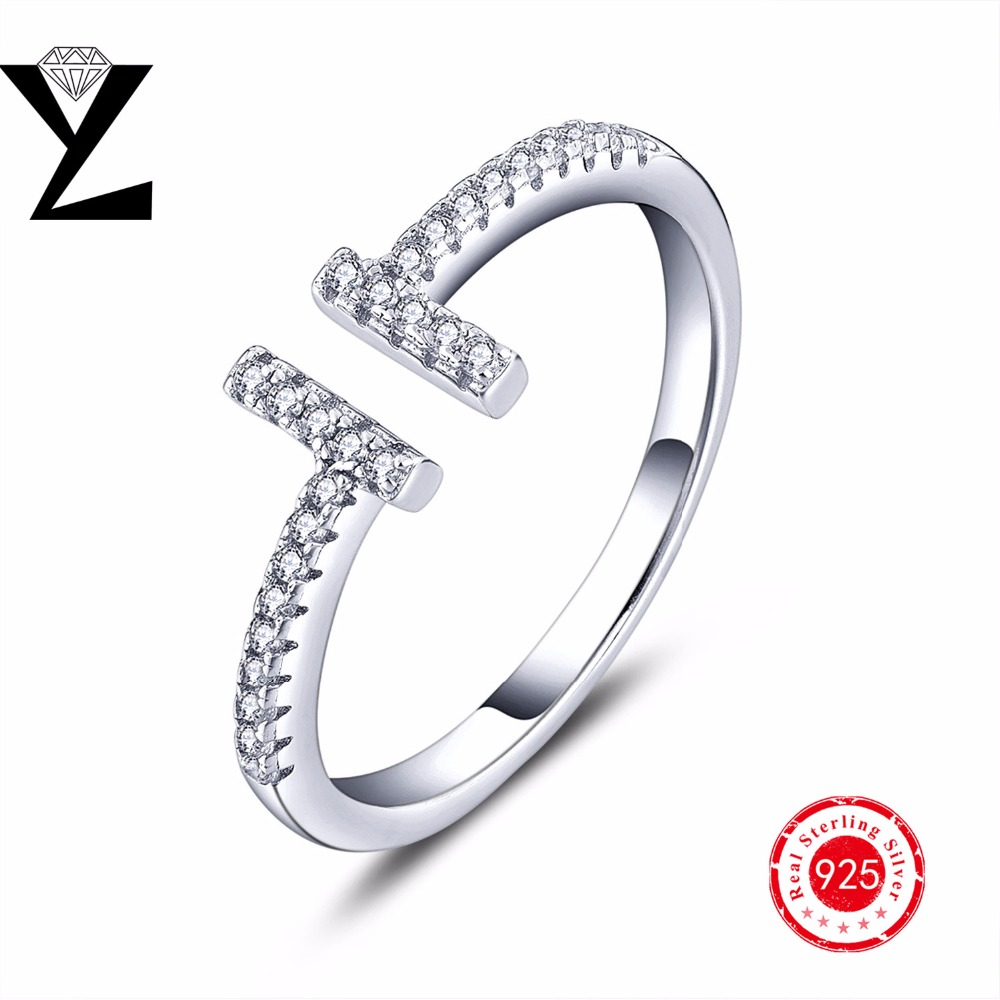 Love Engagement Wedding Rings Cubic Zircon 925 Sterling Silver Rings Fashion Jewelry for Women/Men Anniversary Engagement(China (Mainland))
