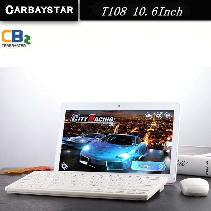 CARBAYSTAR T108 10.6 inch Octa Core Smart android tablet pc 1366*768 IPS screen phone call Android 5.1 Tablet computer(China (Mainland))