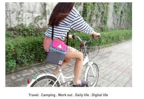 2pcs/lot For Apple iPad Bag in Bag Inner Bag Handbag Insert ipad purse Nylon messenger bag free shipping(China (Mainland))