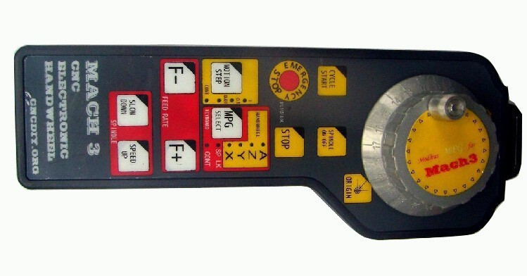 MACH3 CNC USB Electronic Handwheel Manual Controller MODBUS MPG(China (Mainland))