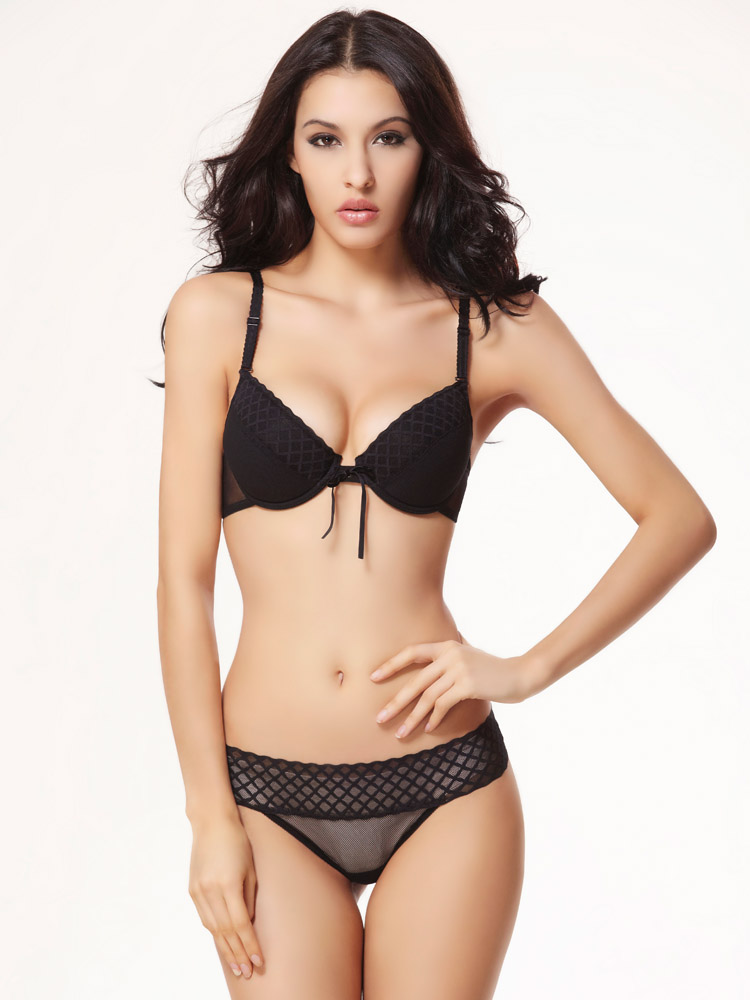 9035 European style new arrived Fashion and comfortable women's underwear bra set size Cup 38C 36B 36C 34B 32B(China (Mainland))
